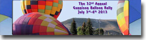 The 4th of July Gunnison Balloon Rally
