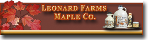 Leonard Farms Maple Syrup Company
